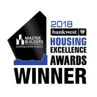 2018 Master Builders housing excellence awards